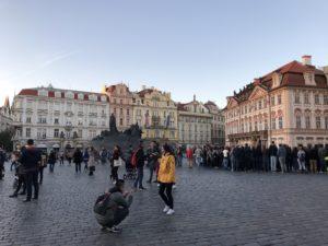 Gebäude in Prag 3