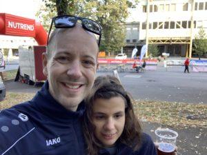 Kerstin und Tobi am Morgen vor dem Start