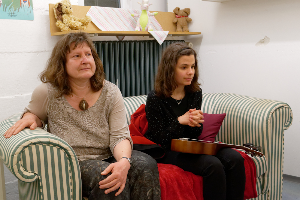 Kerstin und Frau Kampermann