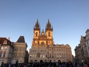 Abenddämmerung in der Altstadt